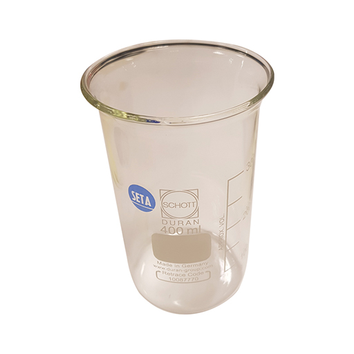 Berzelius Beaker 400 ml (Pack of 10) - 11200-005