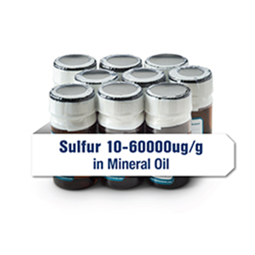 Calibration; S in Mineral Oil, 0-5% (10 mL) - Set of 7 - 207154-34