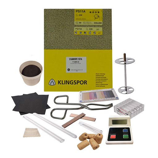 Copper Corrosion Kit for Diesel, Fuel Oil and Lubricants - 11518-0