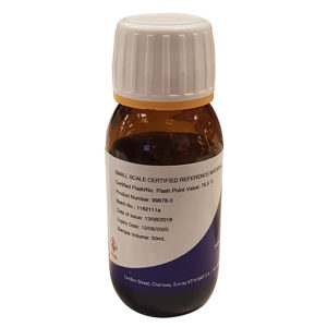 Small Scale Certified Flash Point Material (50 ml) - 99878-3